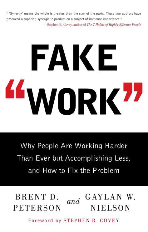 Fake Work Peterson Brent D Nielson Gaylan W (ePUB/PDF)