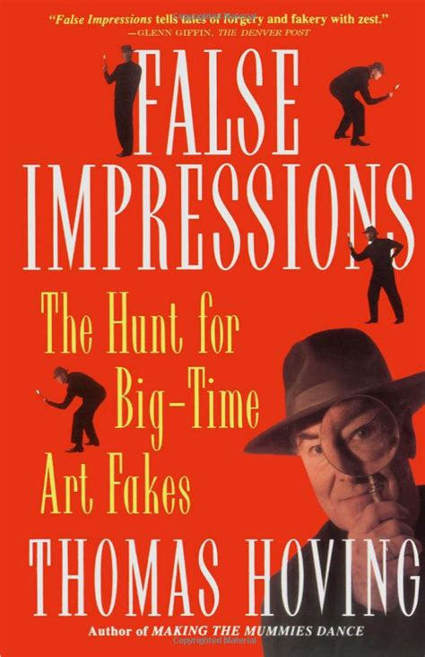False Impressions The Hunt For Bigtime Art Fakes