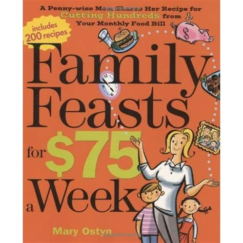Family Feasts For 75 A Week A Pennywise Mom Shares Her Recipe For Cutting Hundreds From Your Monthly Food Bill