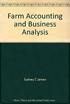 Farm Accounting And Business Analysis