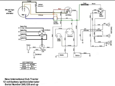 Farmall H Wiring 12v - Technical Diagrams on