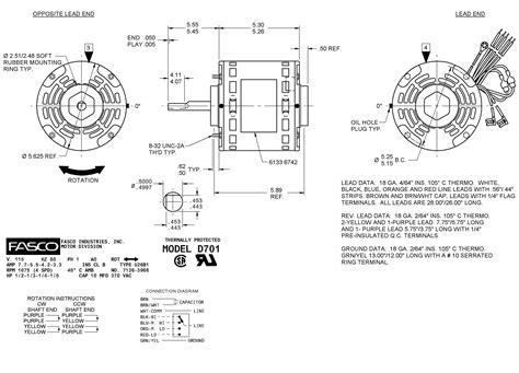 fasco d701 wiring diagram