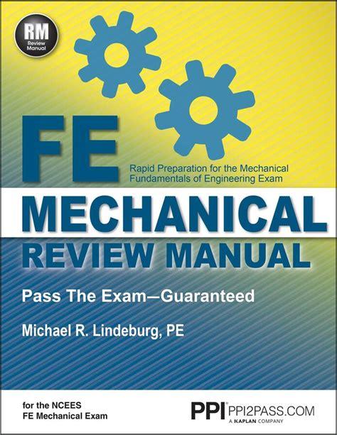 Fe Review Manual Michael Lindeburg (ePUB/PDF)