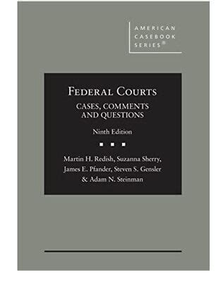 Federal Courts Cases Comments And Questions