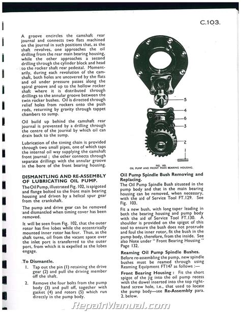 Ferguson Tea 20 Service Manual (ePUB/PDF) Free