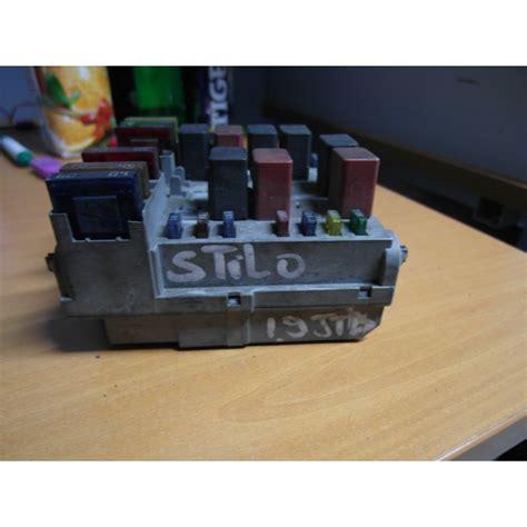 fiat stilo engine fuse box diagram