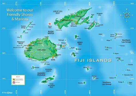 Fiji Travel Reference Map (ePUB/PDF)