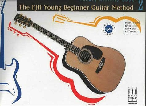 Fjh Young Beginner Guitar Method Theory Activity Book 1