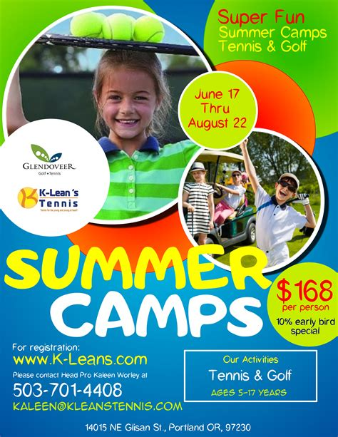 Flyers Template For Summer Camp For Kids (ePUB/PDF) Free