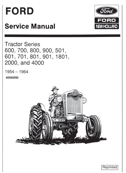 Ford 4130 Tractor Repair Manual (ePUB/PDF) Free