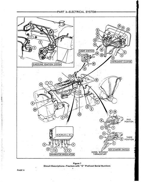 ford 861 wiring diagram