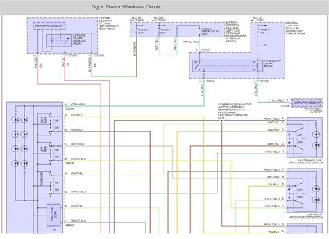 Ford Explorer Power Window Wiring Diagram (ePUB/PDF) Free