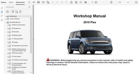 Ford Flex Repair Manual (ePUB/PDF)