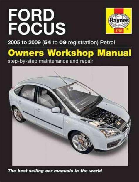 Ford Focus Service Manual (ePUB/PDF)
