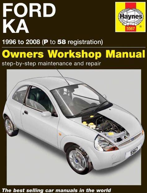 Ford Ka 1996 Manual (ePUB/PDF)