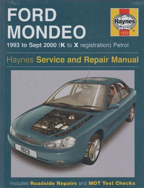Ford Mondeo Service Owners Manual (ePUB/PDF)