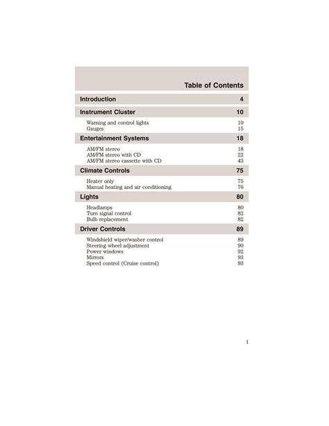 Ford Ranger Owners Manual 2002 (ePUB/PDF)