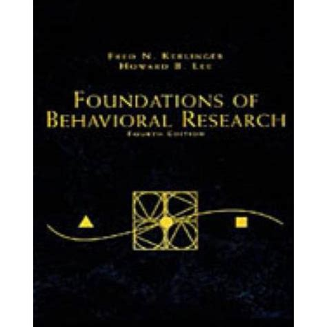 Foundations Of Behavioral Research PSY 200 300 Quantitative Methods In Psychology