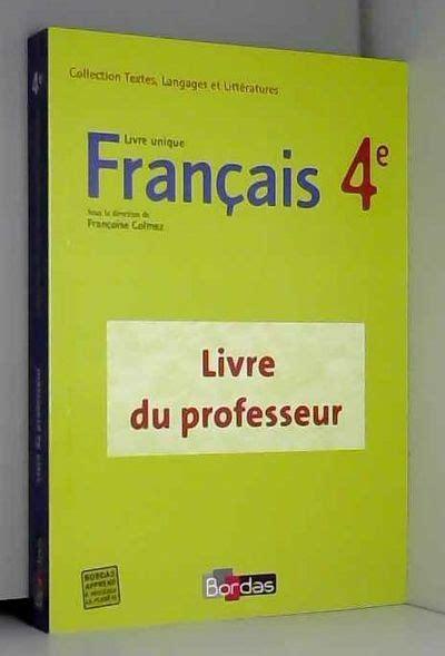 Francais E Livre Unique Gp