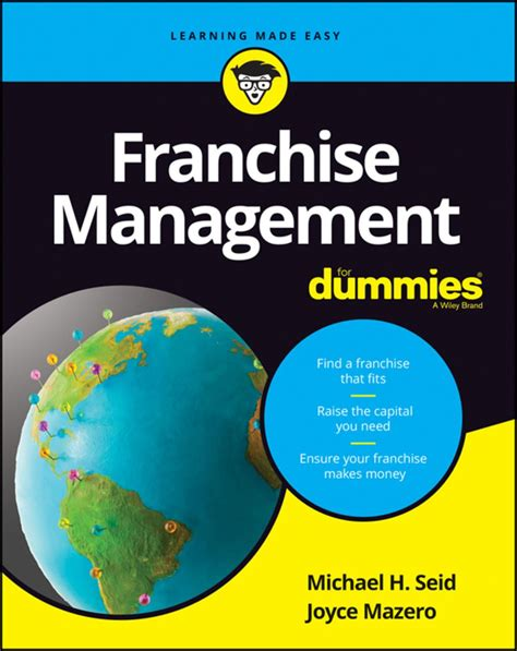 Franchise Management For Dummies For Dummies Lifestyle