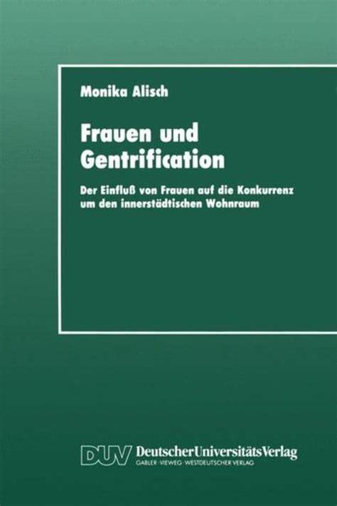 Frauen Und Gentrification Alisch Monika (ePUB/PDF) Free