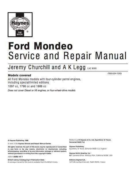 Free Ford Repair Manuals (ePUB/PDF)
