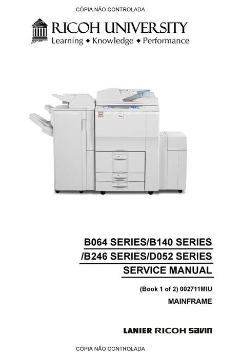 Free Service Manual On Ricoh Mpc Copiers ePUB/PDF
