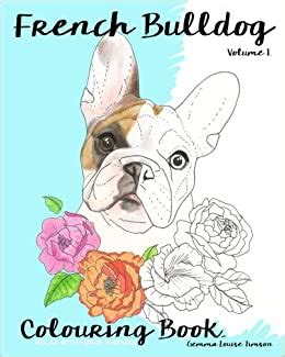 French Bulldog Colouring Book Relax With Furry Friends