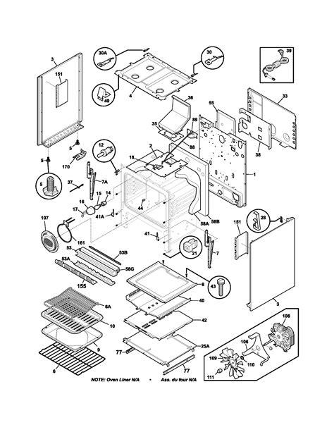 frigidaire wiring diagram stove images frigidaire plgf389ccc gas range timer stove clocks and
