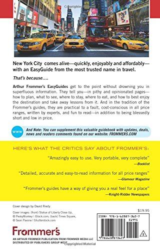 Frommers Easyguide To New York City 2018 Easyguides