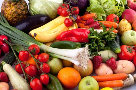 Fruit And Vegetables Healthy Eating