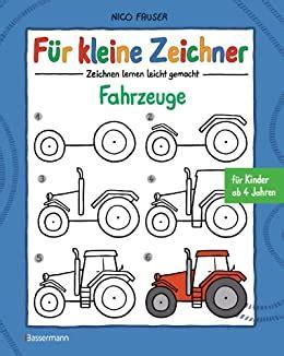Fuer Kleine Zeichner Fahrzeuge Zeichnen Lernen Leicht Gemacht Fuer