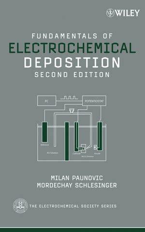 Fundamentals Of Electrochemical Deposition Paunovic Milan ...