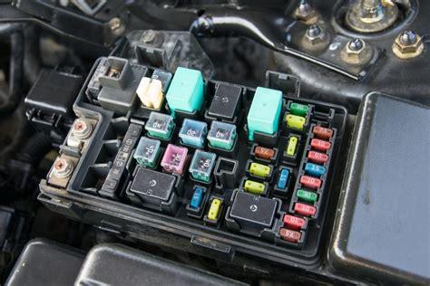 fuse box in car clicks