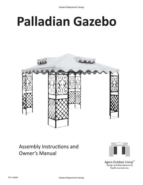 Fabulous Gazebo Assembly Manual Epub Pdf Wiring Cloud Hisonuggs Outletorg