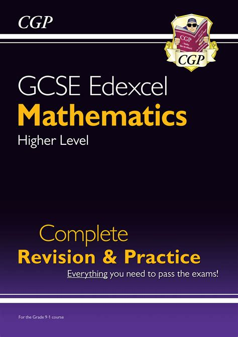 Gcse Maths Edexcel Complete Revision Practice Higher For The