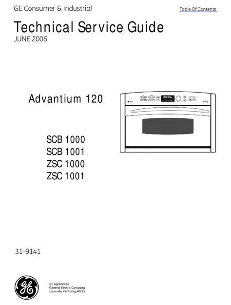 Ge Advantium Repair Manual (Free ePUB/PDF) on