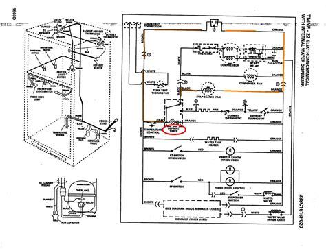 ge hotpoint refrigerator wiring diagram