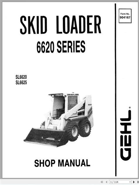 Gehl Skid Steer Service Manual (ePUB/PDF) Free