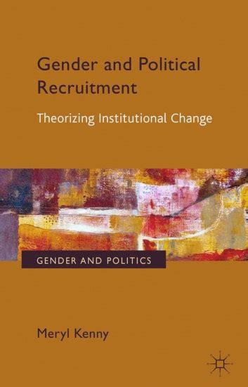 Gender And Political Recruitment Kenny Meryl (ePUB/PDF) Free
