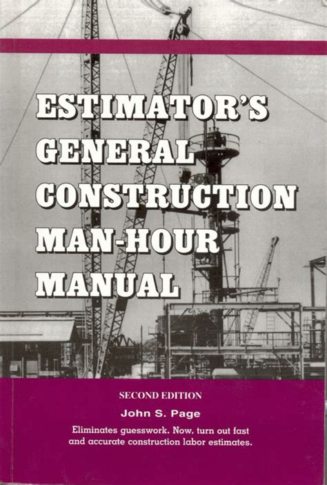 General Construction Cost Estimating Manual (ePUB/PDF) Free