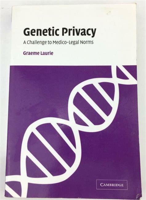 Genetic Privacy Laurie Graeme (ePUB/PDF) Free