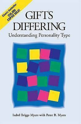 Gifts Differing Understanding Personality Type The Original Book Behind The MyersBriggs Type Indicator MBTI Test