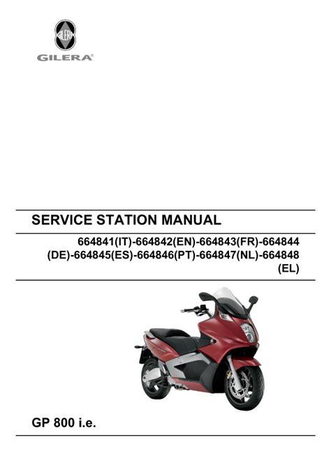 Gilera Workshop Manual (ePUB/PDF) Free
