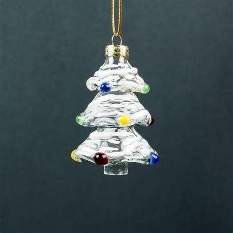 Glass Blown Christmas Tree Ornaments