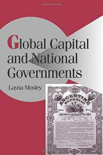 Global Capital And National Governments Cambridge Studies In Comparative Politics