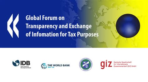Global Forum On Transparency And Exchange Of Information For Tax ...