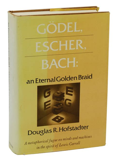 Godel Escher Bach An Eternal Golden Braid 8601300280295 Basic Books