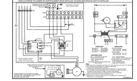 goodman heat kit wiring diagram