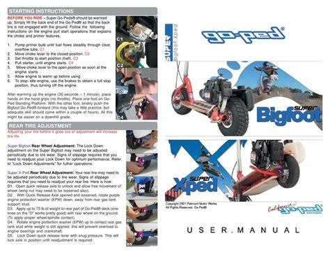 Goped Manuals (ePUB/PDF) Free